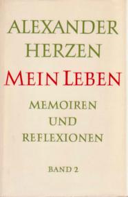 Werner Portmann über Alexander Herzen: Mein Leben. Memoiren und Reflexionen