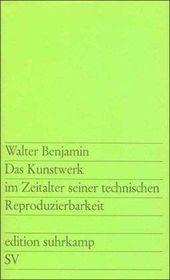 Fritz Billeter über Walter Benjamin: Das Kunstwerk im Zeitalter seiner technischen Reproduzierbarkeit