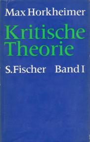 Otmar Hersche über Max Horkheimer: Kritische Theorie