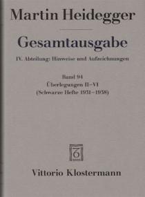 Martin Heidegger: Schwarze Hefte