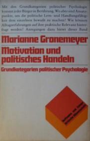 Ueli Mäder über Marianne Gronemeyer: Motivation und politisches Handeln
