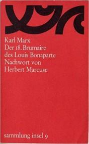 Gaudenz Pfister über Karl Marx: Der achtzehnte Brumaire des Louis Bonaparte